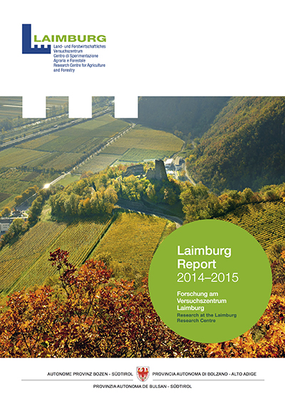 Cover Laimburg Report 2014-2015
