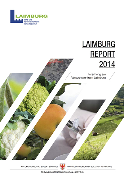 Cover Laimburg Report 2014