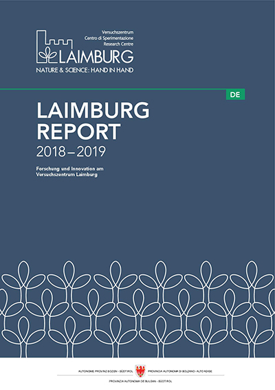 Cover Laimburg Report 2018–2019